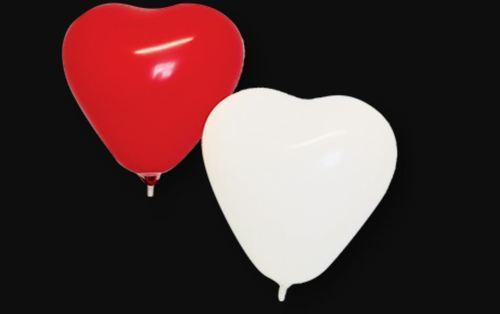 Heart Shaped Latex Party Balloon