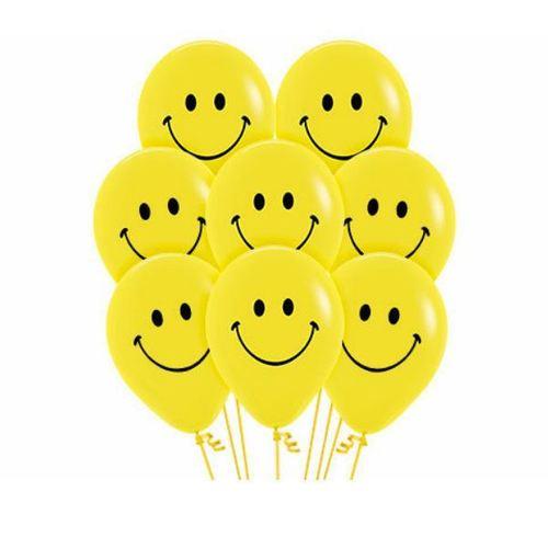 Party Smiley Latex Balloon
