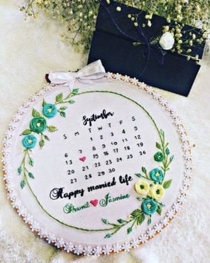 Customized Wooden Embroidery Hoop