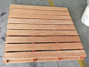 Wood Pallet with Optimum Strength