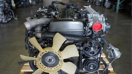 Toyota Supra.2JZ GTE Twin Turbo Engine