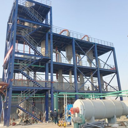 Turnkey Project Of Calcium Chloride Granulation Production Line Capacity: 1000 Kg/Hr