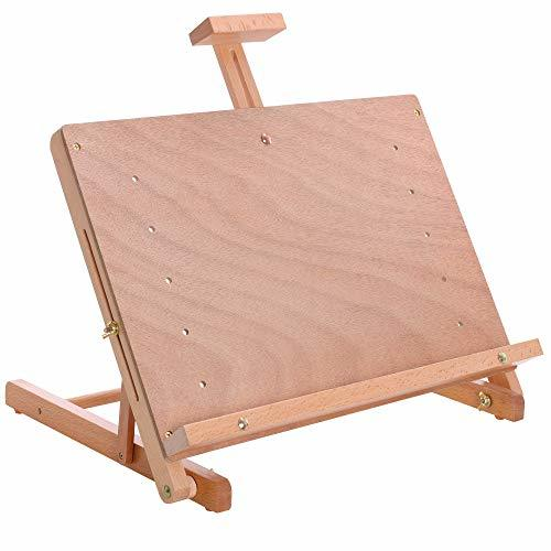 Adjustable Angle And Height Folding Counter Table Top Easel