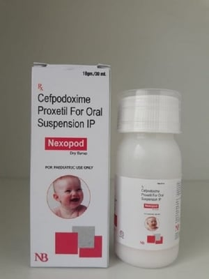 Nexopod Cefpodoxime Proxetil Dry Syrup