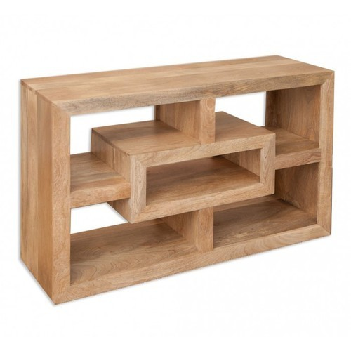 Wooden Cubical Tv Unit Stand
