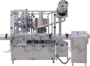 Rotary Volumetric Bottle Liquid Filling and Capping Machine