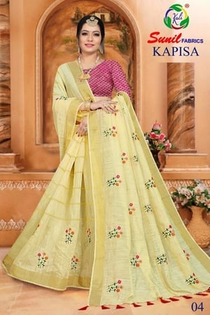Embroidered Fancy Ladies Saree