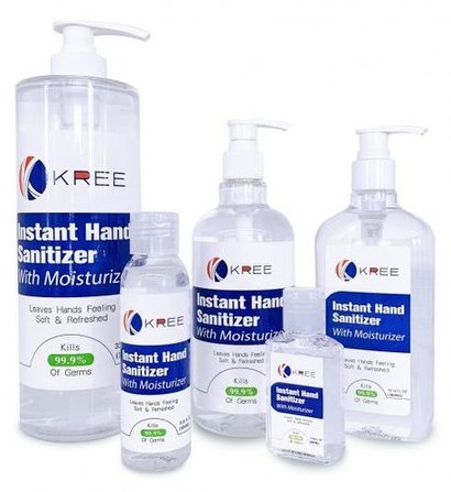 Water Free Hand Sanitizer Application: For Personal Protection Againt Virus And Bacteria