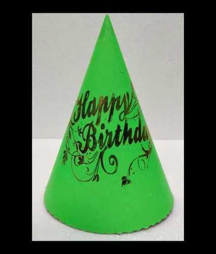 Hologram Cone Shape Birthday Cap