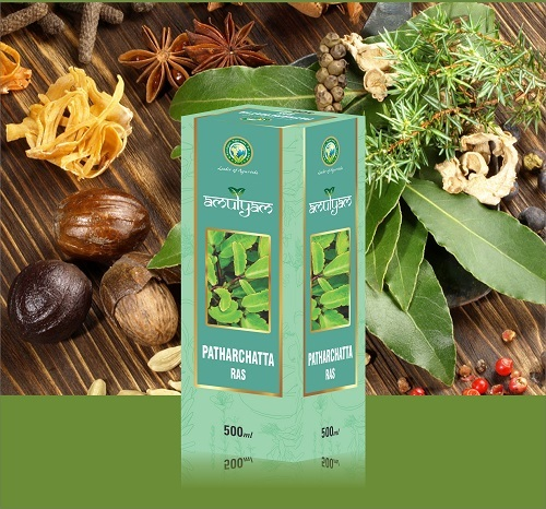 Aloevera Wheat Grass With Mint And Tulsi Juice