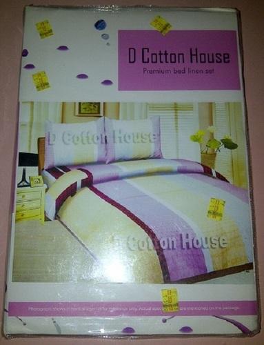 D Cotton House Bedsheet