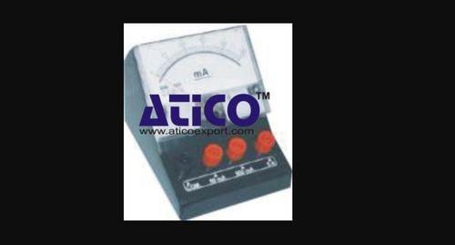 Portable 1 Phase D C Ammeter