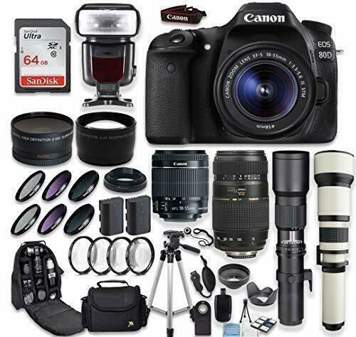 Brand New EOS 80D DSLR Camera (Canon)