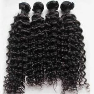 Black Color Curly Human Hair