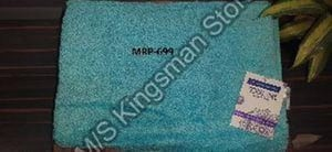 Rectangle Embroidered Cotton Towel