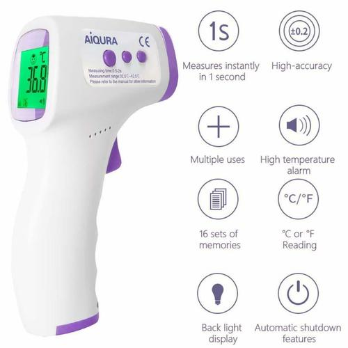 Digital Non Contact Infrared Forehead Thermometer