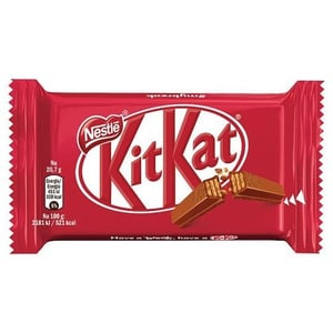 Kitkat Chocolate Bar 4 Fingers Waffle with Milk and Chocolate