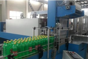 Shrink Wrapping Machine For Bottle Or Can