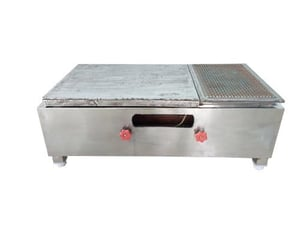 Stainless Steels Commercial Chapati Plate With Puffer