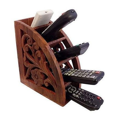 Polished Termite Resistance Wooden Remote Stand
