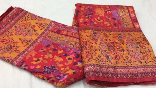 Rainy Kalamkari Woven Silk Saree
