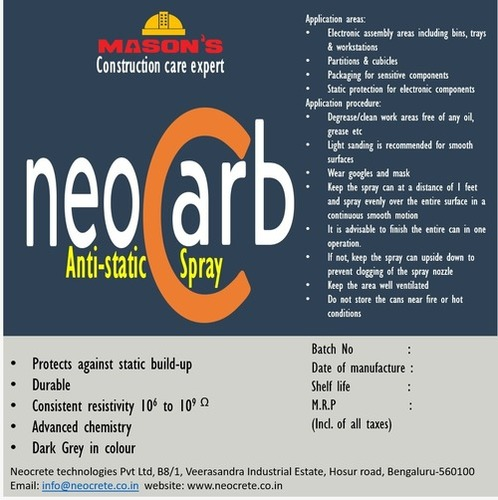 Neocarb Anti-Static Spray