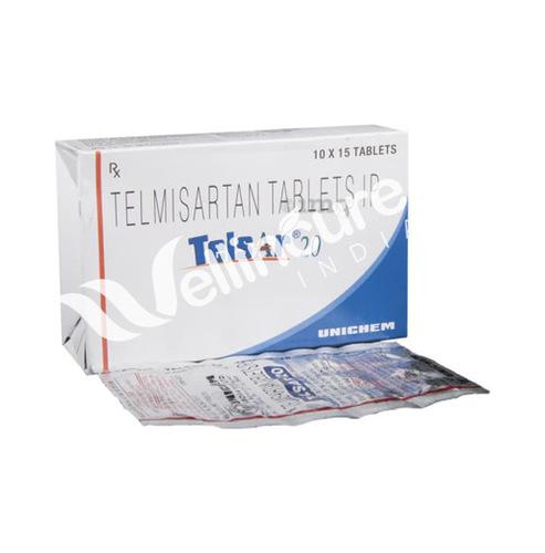 Telsar 20 Tablet Ingredients: Telmisartan (20Mg)