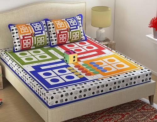 Printed Chenille Bedsheet Cover