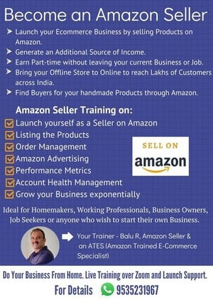 Amazon Seller Training and Support Service