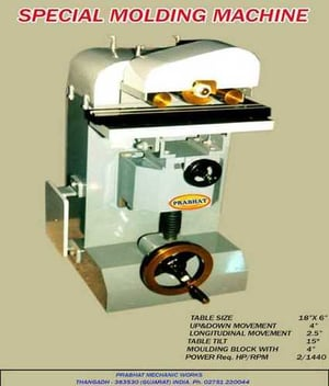 Moulding Machine with Long Life