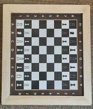 14x14 Inch Wooden Chess Board