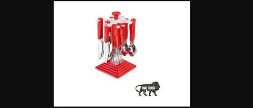 24 Pieces Stainless Steel Kitchen Cutlery Set