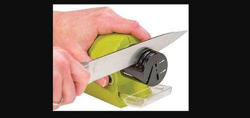 Battery Operated Plastic Knife Sharpener