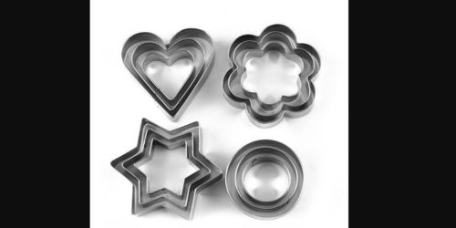 Kitchen Stainless Steel Cookie Cutter Mould