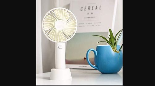 Plastic Portable Usb Table Fan