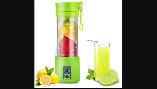 Rechargeable Battery Operated Juicer Bottle