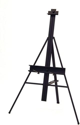 Aluminum Lightweight Adjustable Large Metal Floor Easel Stand