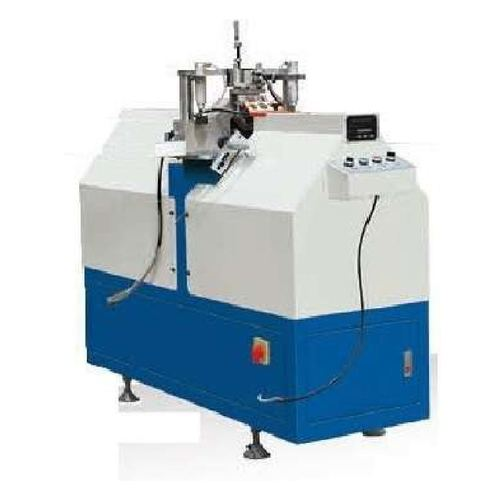 Blue And White Mullion Cutting Saw With Advanced Technology