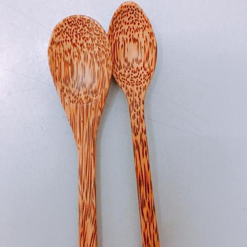 Wooden Handicraft Dinner Spoon