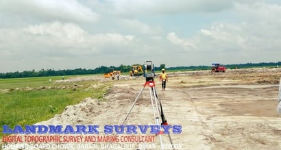 Digital Topographic Survey And Mapping Service