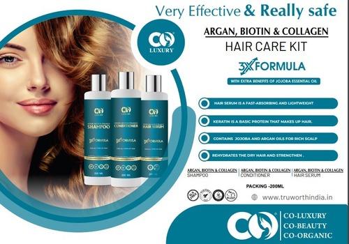 Co Luxury Argan Biotin & Collagen Hair Care Kit