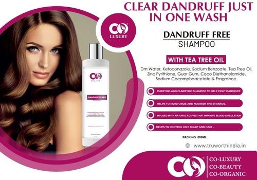 Co Luxury Dandruff Free Shampoo