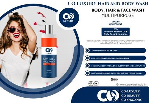 Co Luxury Body, Hair & Face Wash