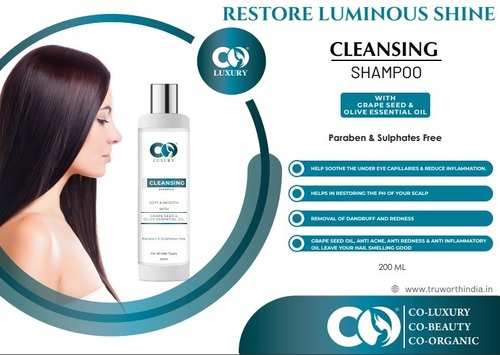 Co Luxury Cleansing Shampoo