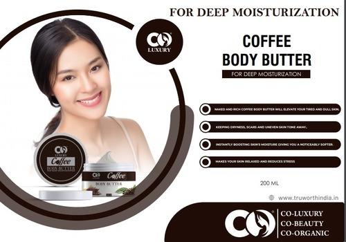 Co Luxury Coffee Body Butter Moisturizer