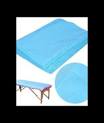 Blue Hospital Disposable Bedsheet