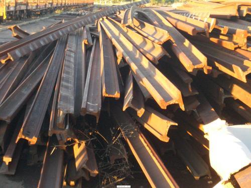 Used Rail Iron Metal Scrap