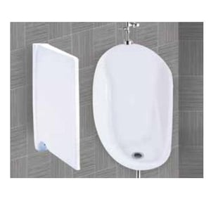 Half Stall Mens Urinal With Partition