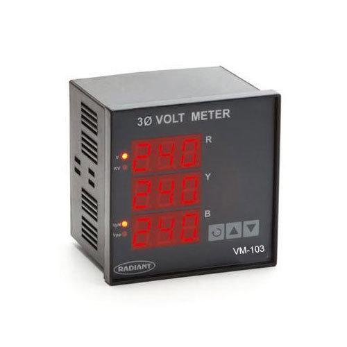 Three Phase Volt Meter