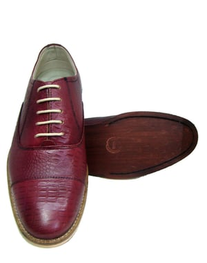 Pure Leather Oxford Shoes